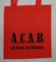 A.C.A.B. – All Cooks Are Brilliant